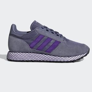 Adidas Forest Grove Raw Indigo Sneakers